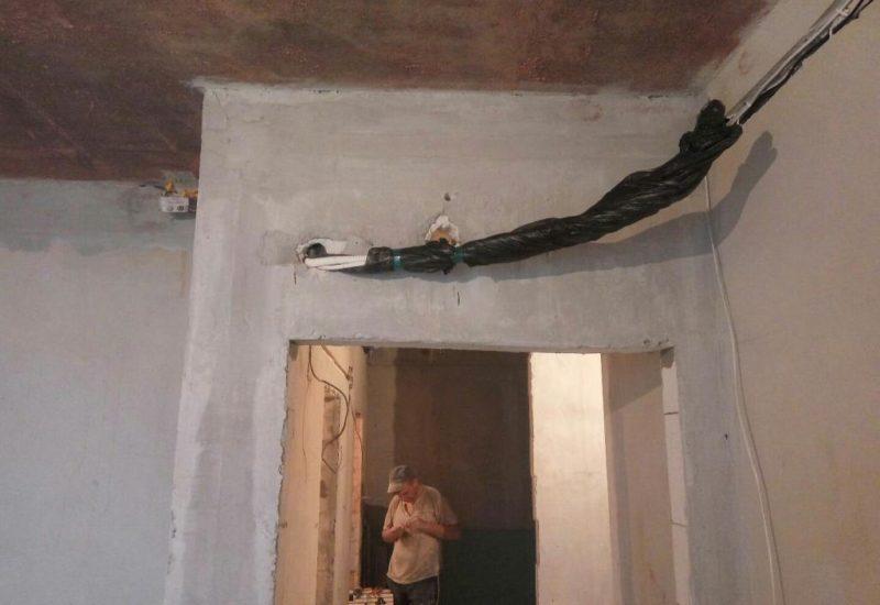 Монтаж системы кондиционирования в квартире