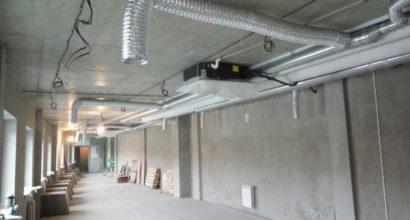Монтаж вентиляционной системы в офисе Минск